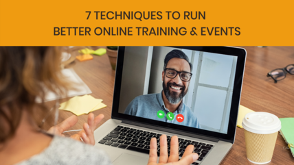 7 online training techniques blog