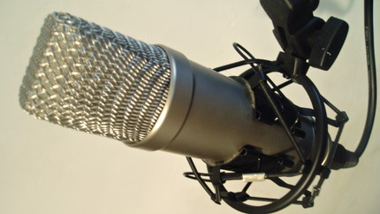 Big microphone