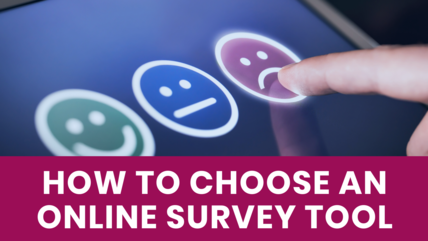 Choosing online surveys