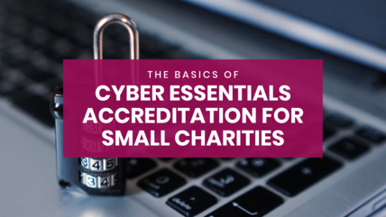 Cyber essentials for small charities