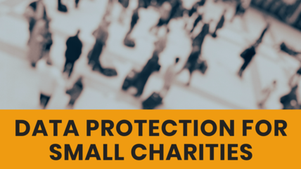 Data Protection for small charities