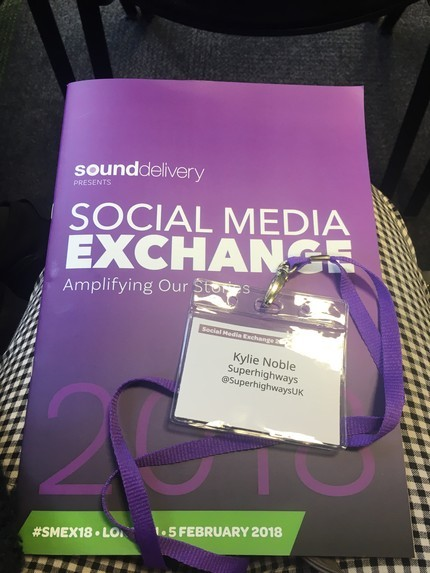 The programme for Social Media Exchange 2018