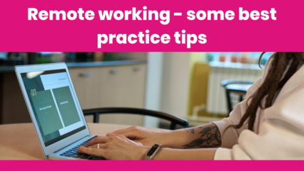 Remote working best practice